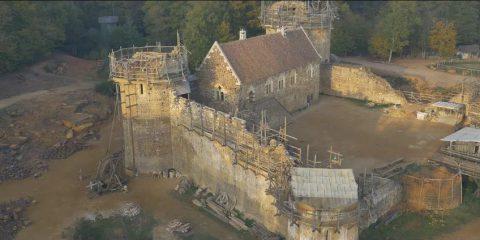 Video Droni. Il Castello di Guédelon (Francia) visto dal drone