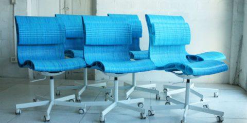 Maker economy, stampata in 3D la prima linea di sedie Wasp (Video)