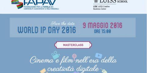 World IP Day. F. Bagnoli Rossi (FAPAV): 'Senza copyright impossibile sostenere la creatività'