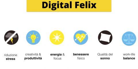 digitaldetox. Dal Digital Detox al Digital Felix : come cambierà il concetto del Wellness nel turismo