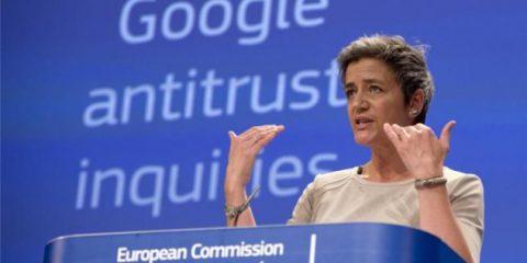 Google verso maximulta di un miliardo di euro dall'Antitrust Ue