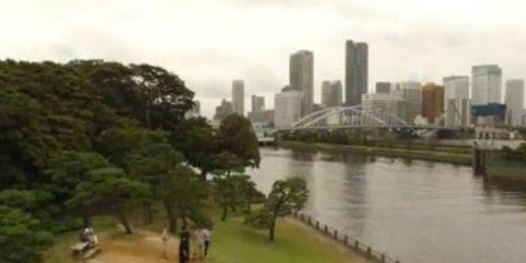Video droni. Tokyo e Yokohama visti dal drone