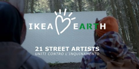 Spot&Social, Ikea Loves Earth: street art e natura