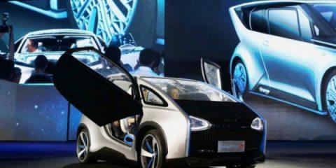 Sos Energia. In Cina l'auto elettrica alimentata direttamente dal sole