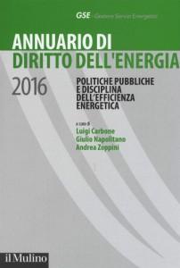 Annuario di diritto dell'energia 2016
