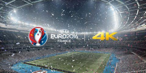 Euro 2016, partite in 4k via satellite su Rai 4K. Evento storico per la tv italiana. Il reportage video con i protagonisti