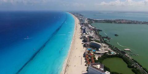 Video droni. Cancun (Messico) vista dal drone