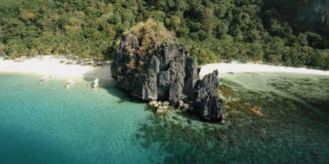 Video droni. Tra mare incantato e boschi: le Filippine viste dal drone