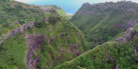 Video droni. L'Isola di Maui (Hawaii) vista dal drone