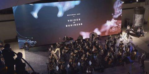 E se il business fosse musica? Symphonologie di Accenture: esperienza sinfonica unica grazie all'intelligenza artificiale