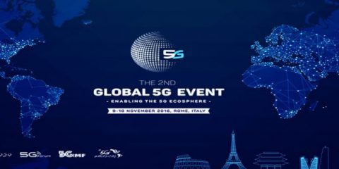The 2nd Global 5G Event: 9-10 Novembre 2016 a Roma