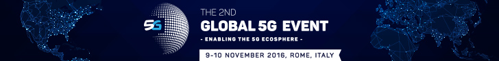 banner 5G global event