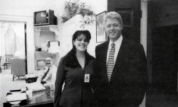 Bill Clinton e Monica Lewinsky 1995