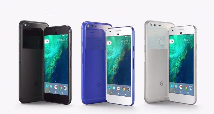 Google Pixel e Pixel XL, colori disponibili