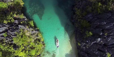 Video droni. L'isola più bella del mondo: Palawan (Filippine) vista dal drone