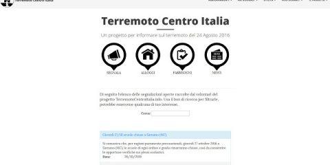 Terremotocentroitalia.info