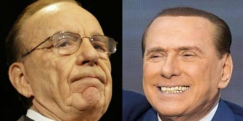 Mediaset-Vivendi, asse Berlusconi-Murdoch contro Bolloré?