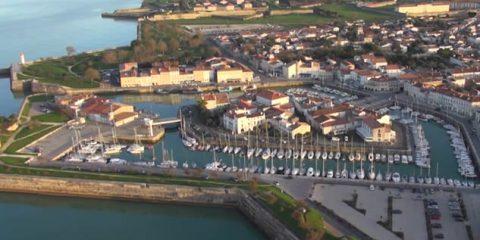 Video droni. L'Ile de Ré (costa atlantica francese) vista dal drone