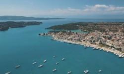 L'isola di Velvina (Grecia) vista dal drone