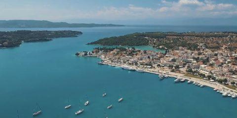 Video droni. L'isola di Velvina (Grecia) vista dal drone