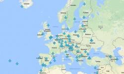 mappa wifi aeroporti