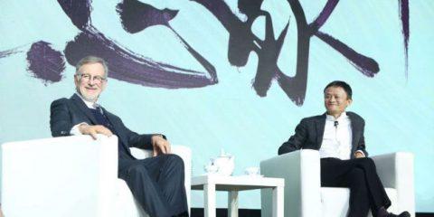 Cinema, la Cina avanza. Jack Ma (Alibaba) si allea con Steven Spielberg
