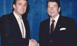 Donald Trump e Ronald Reagan