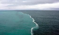 il punto del Golfo d'Alaska dove i due oceani si incontrano