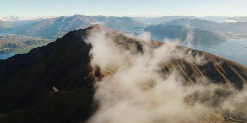 Video droni. In Nuova Zelanda a bordo del drone