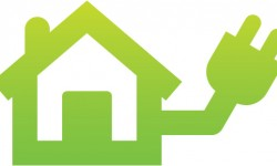 Home electricity icon