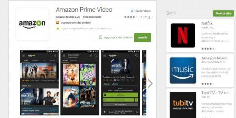 App4Italy. Amazon fa concorrenza a Netflix, arriva in Italia Prime Video