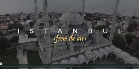 Video droni. Istanbul (Turchia) vista dal drone
