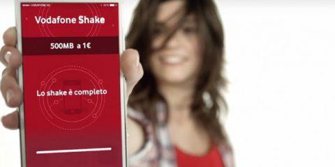 Vodafone Italia lancia il nuovo concorso 'Shakethon' con Amici di Maria De Filippi