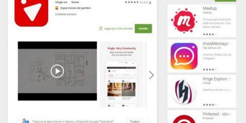 App4Italy. La recensione del giorno: Vingle. Very Community