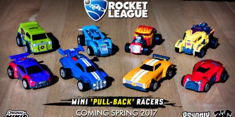 Rocket League si espande con una linea di giocattoli