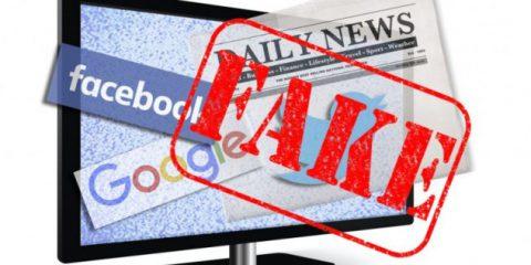 Fake news, 'Multe e carcere per chi scrive bufale sul web'