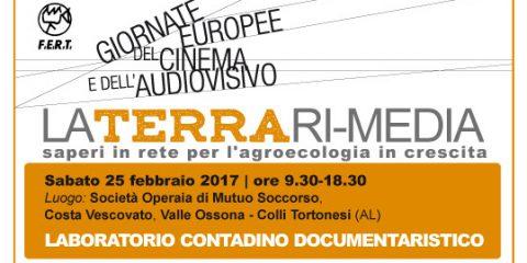 La terra Ri-media, 'Laboratorio contadino documentaristico' il 25 febbraio a Colli Tortonesi