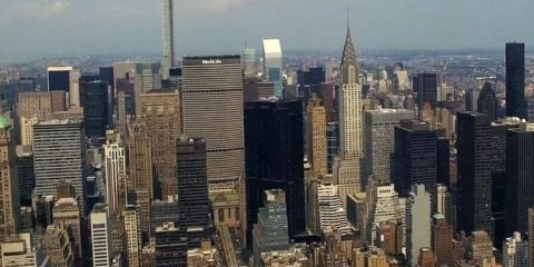 Video droni. La Grande Mela: New York vista dal drone