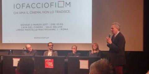 'Io Faccio Film' alla Casa del Cinema di Roma, presentati oggi i risultati a sei mesi dal lancio