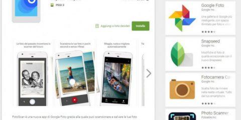 App4Italy. La recensione del giorno: FotoScan di Google Foto