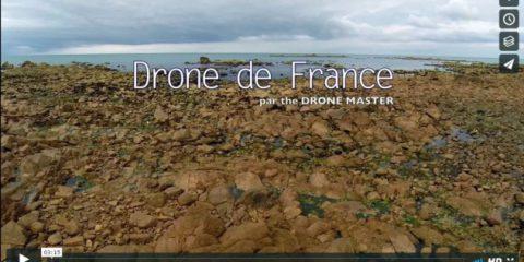 Videodroni. Tra castelli e campagna. A spasso con il drone sui cieli della Francia