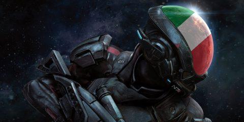 Niente doppiaggio italiano per Mass Effect Andromeda