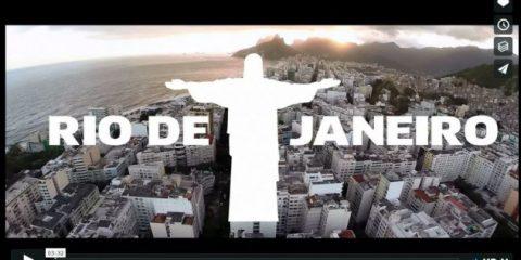 Videodroni. Rio de Janeiro vista dal drone