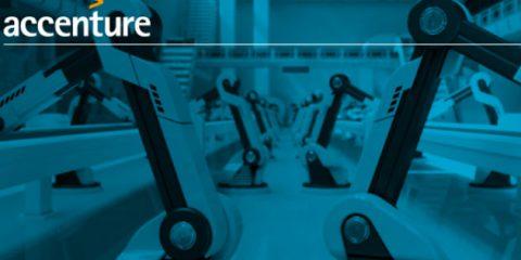 Accenture, le aziende manifatturiere crescono del 7% grazie alle tecnologie dell'Industry 4.0