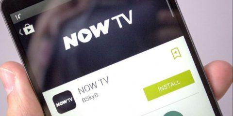Now TV mobile, da oggi arriva su smartphone e tablet