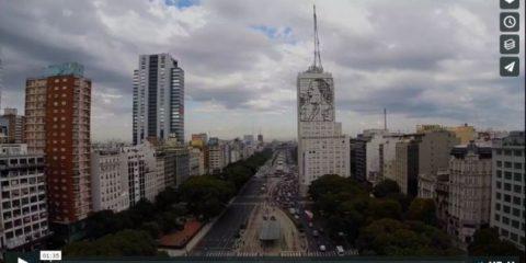 Videodroni. Buenos Aires e l'Argentina viste dal drone