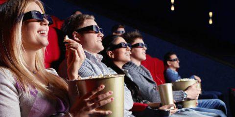 Nonostante Netflix la metà degli italiani va al cinema
