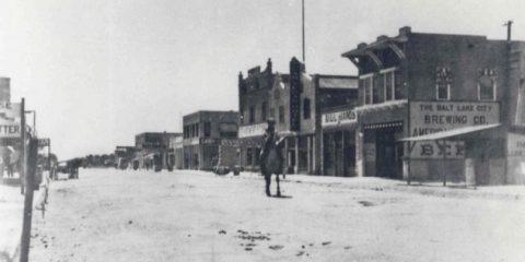 Da non credere: la downtown di Las Vegas nel 1912