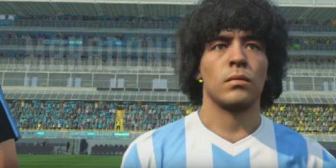 Konami e Diego Armando Maradona ai ferri corti per PES 2017
