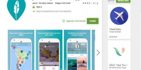 App4Italy. La recensione del giorno, Journi